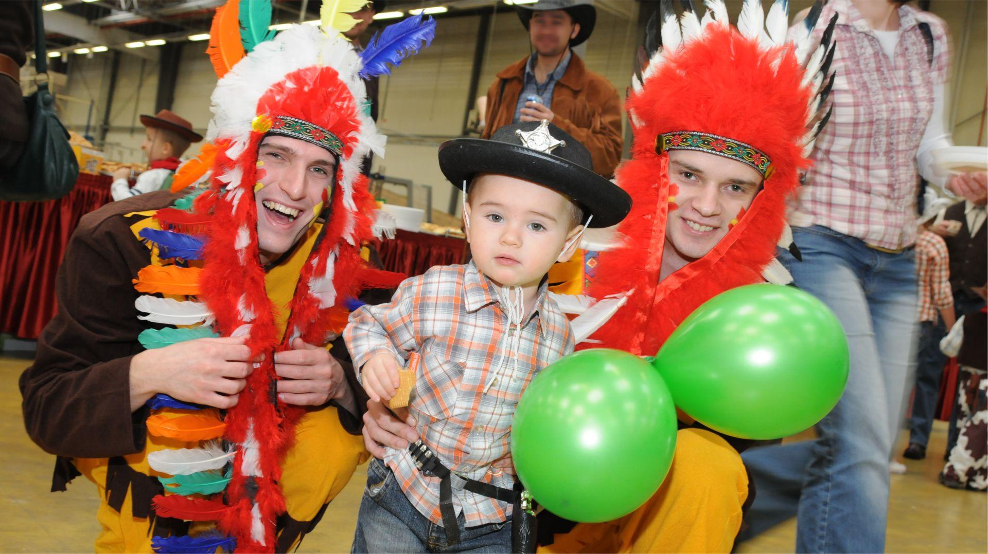 Indianie i Cowboye - imprezy dla dzieci z NEUTRINOband